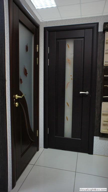 Орнамент на двери
