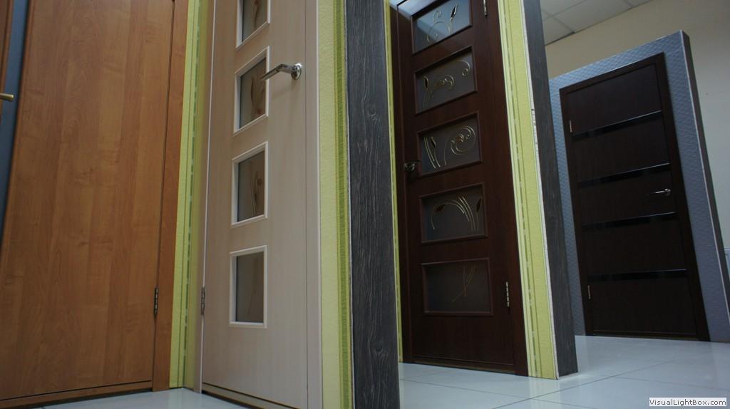 вид межкомнатных дверей - сборные